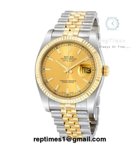 Replica Day date Rolex Oyster Datejust watch - RepTimes is the best website to buy the best quality replica fake designer brand swiss movement watches.