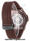 Replica Hublot Big bang in arabic red brown colorway - RepTimes is the best website to buy the best quality replica fake designer brand swiss movement watches.