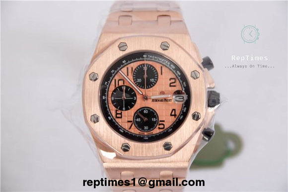 swiss Replica Audemars piguet royal oak offshore chronograph tachometer watch - RepTimes is the best website to buy the best quality replica fake designer brand swiss movement watches.