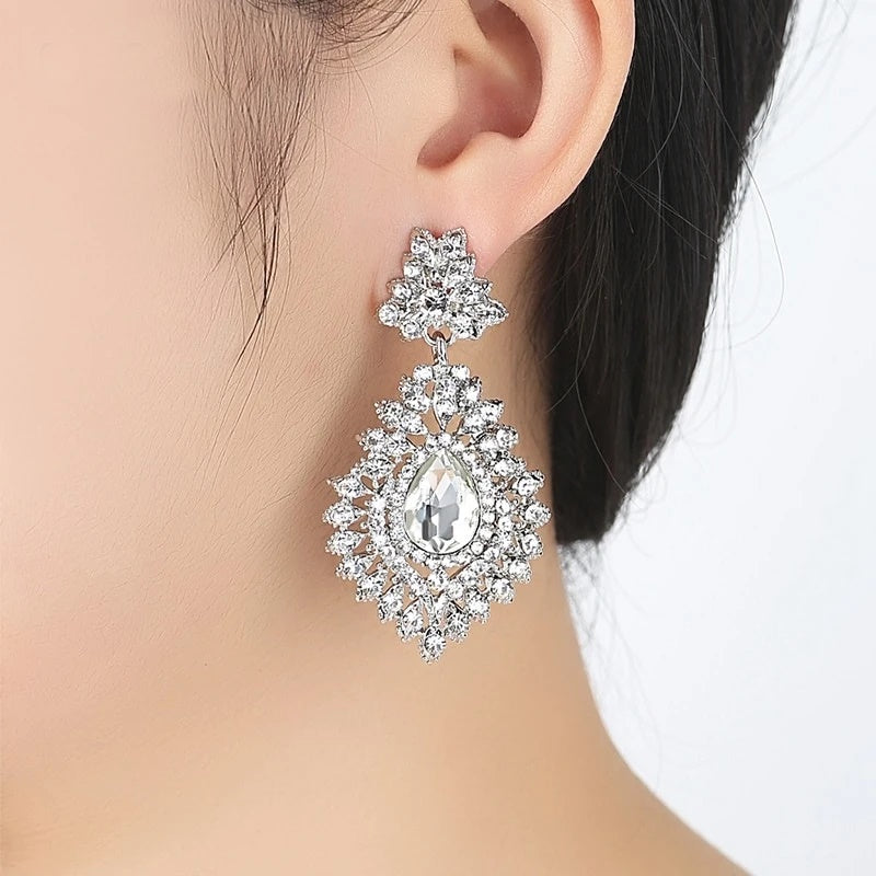 ENGAGE ME- Teardrop Earrings