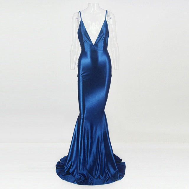 Backless Royal Beauty Dress