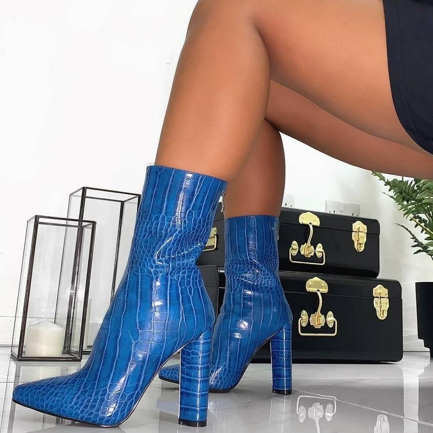 Confident Content - Stiletto Ankle Boots *