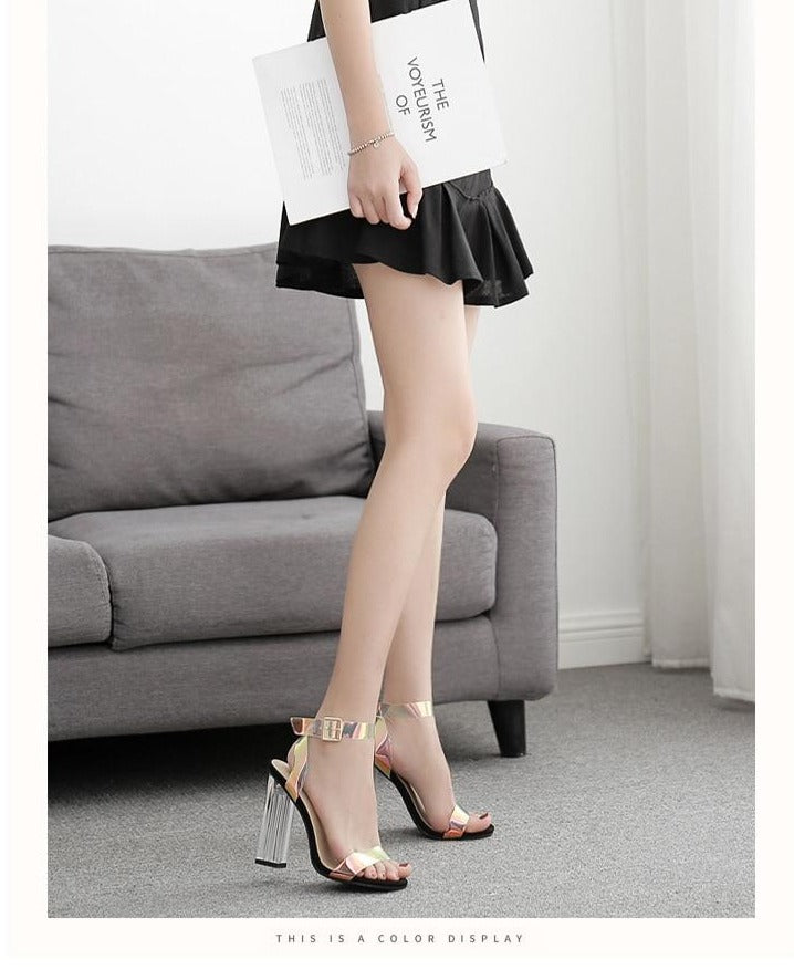 Dynamic Night Out- Transparent High Heels