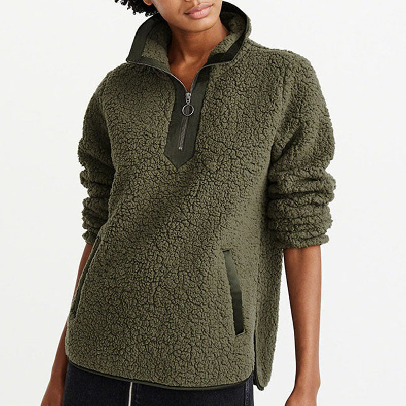Wistful Warmth Oversized Hoodie