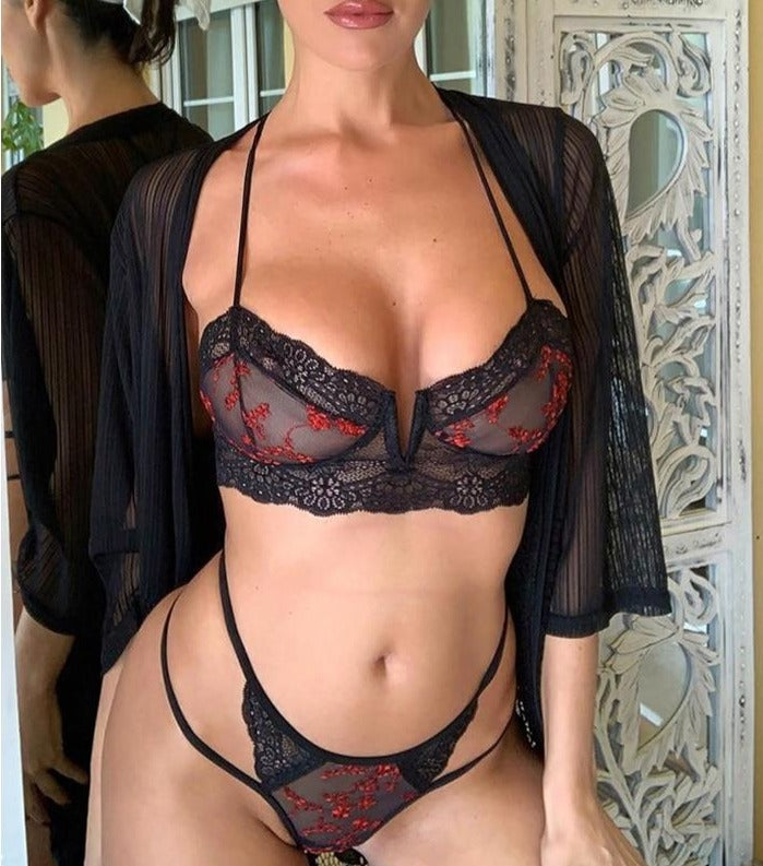 Insatiable Desire- lingerie Set