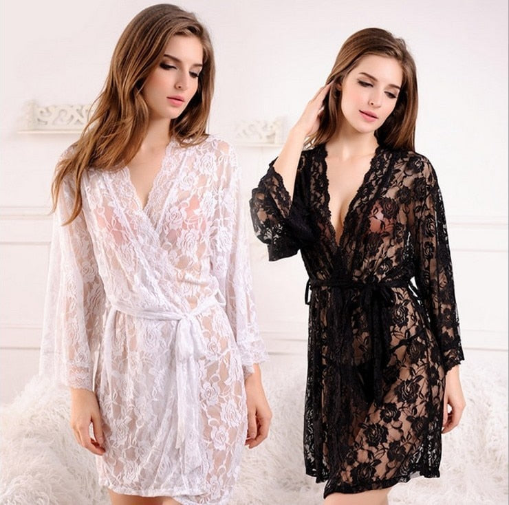 Laced Temptations Robe
