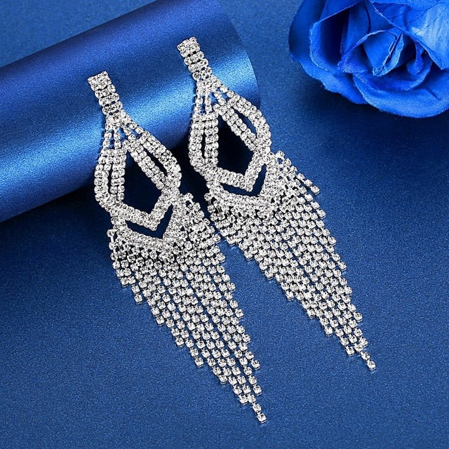 The Power Of Hera- Tassel Earrings