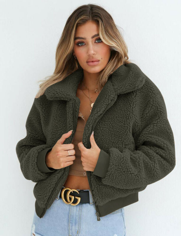 Thalia's Teddy Coat