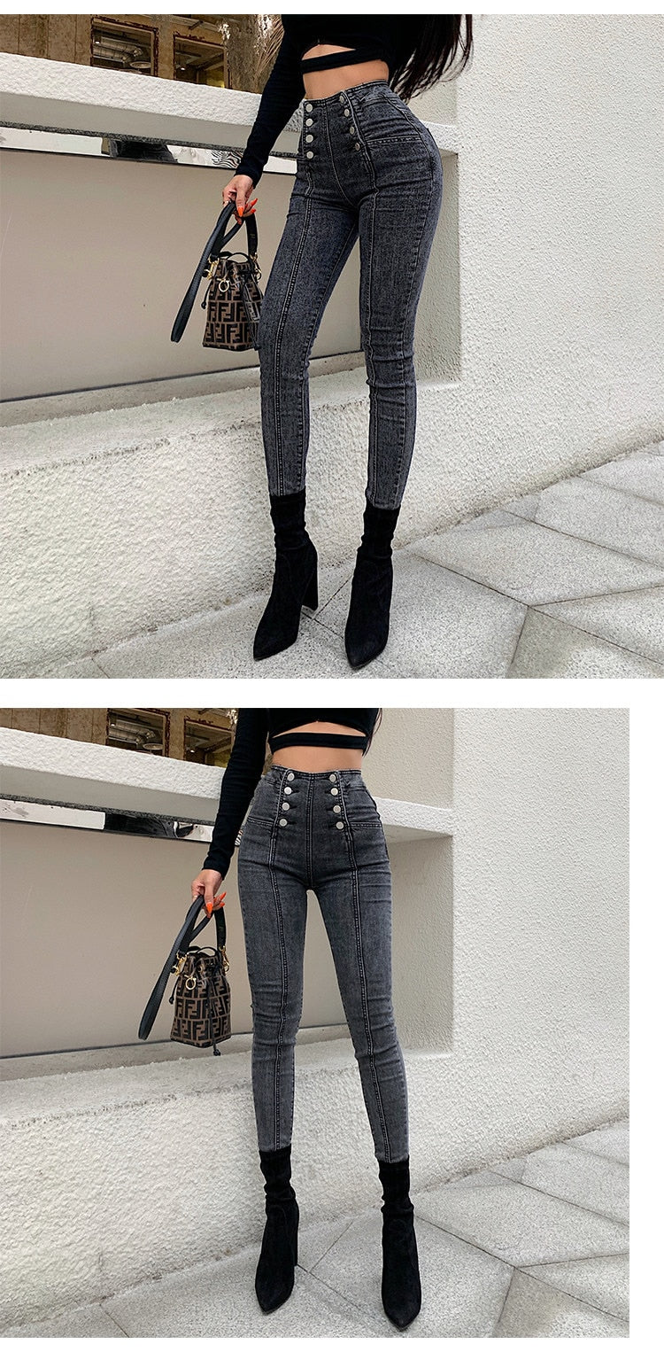 Feeling Great- High Waist Skinny Jeans