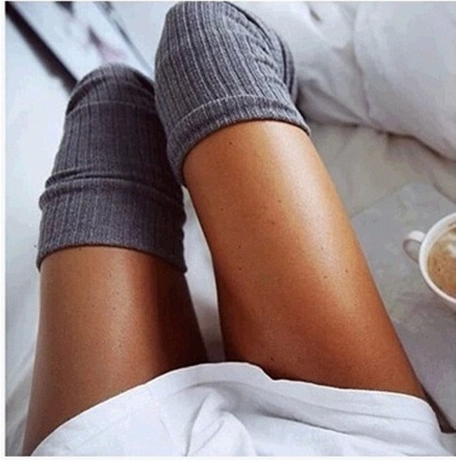 Cozy Day - Thigh High Socks *