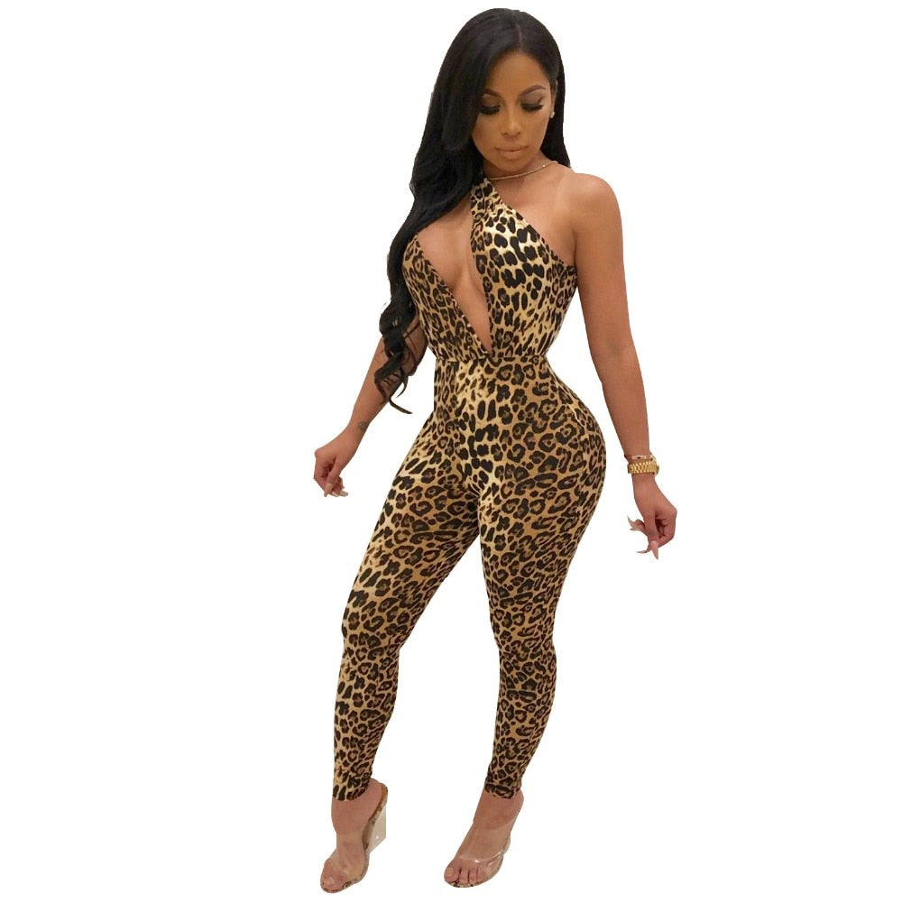 Artemis Leopard Jungle Jumpsuit