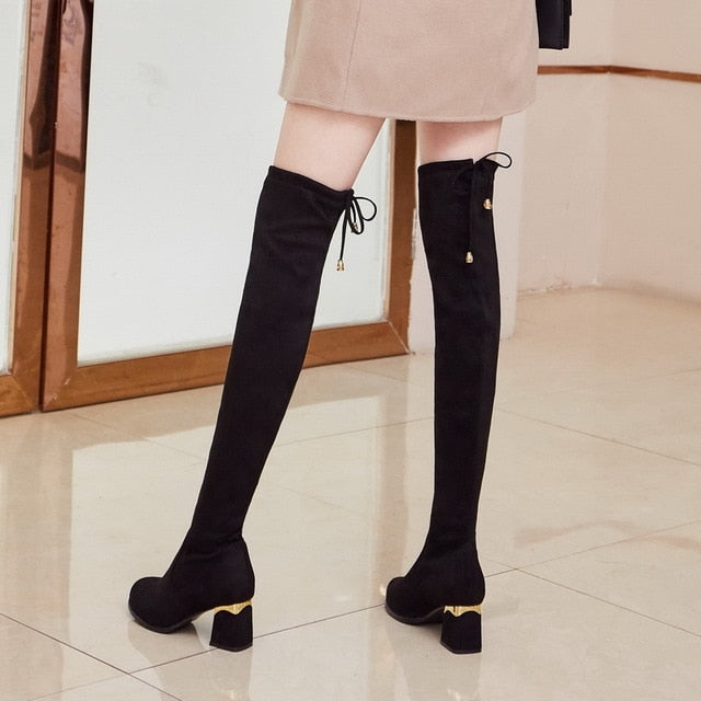 Classically Timeless- Over the Knee Boots