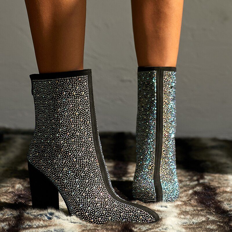 FETISH Crystal- Ankle Boots