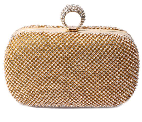Athena's Embrace- Sequined Clutch