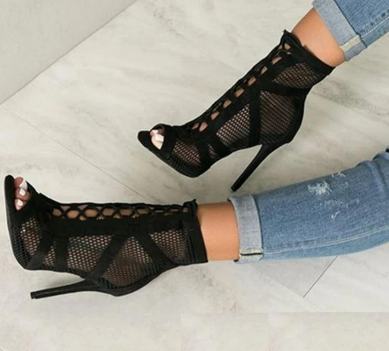 Accomplished Appeal- Mesh Stilettos ⭐