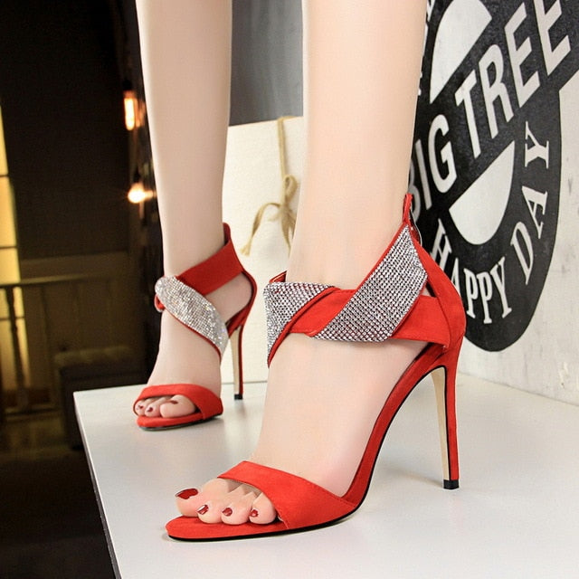 Divine Power- Sparkling Love Knot Heels