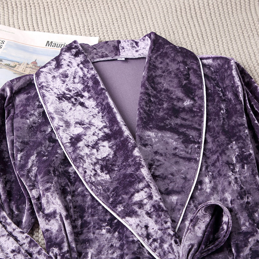 Selene's Magic- Velvet Pajama Robe