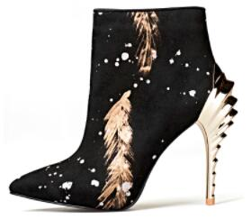 Fantasy Feather - Ankle Boots⭐