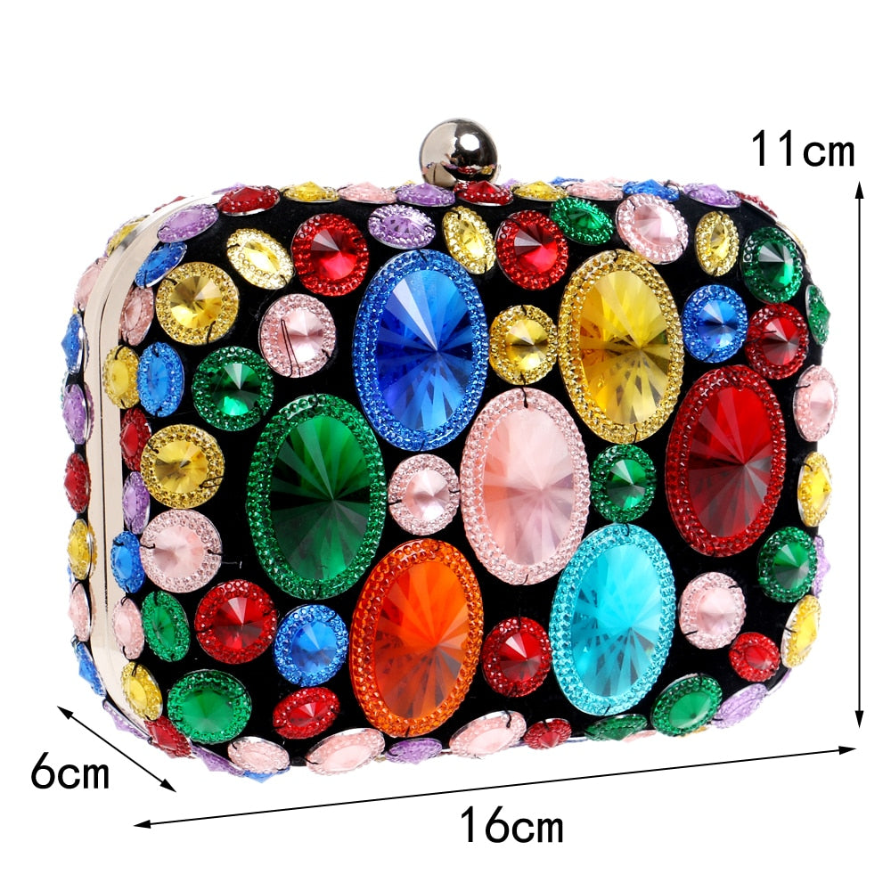 Stained Glass Beaded - Purse