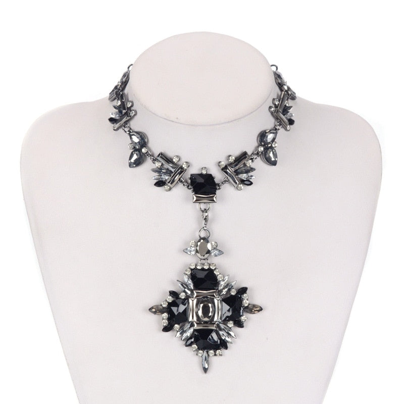 Andart's Statement-Crystal Necklace
