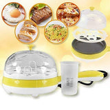 Style Home Mulfunctional Egg Boiler Cooker Steamer Home Machine with Egg Tray