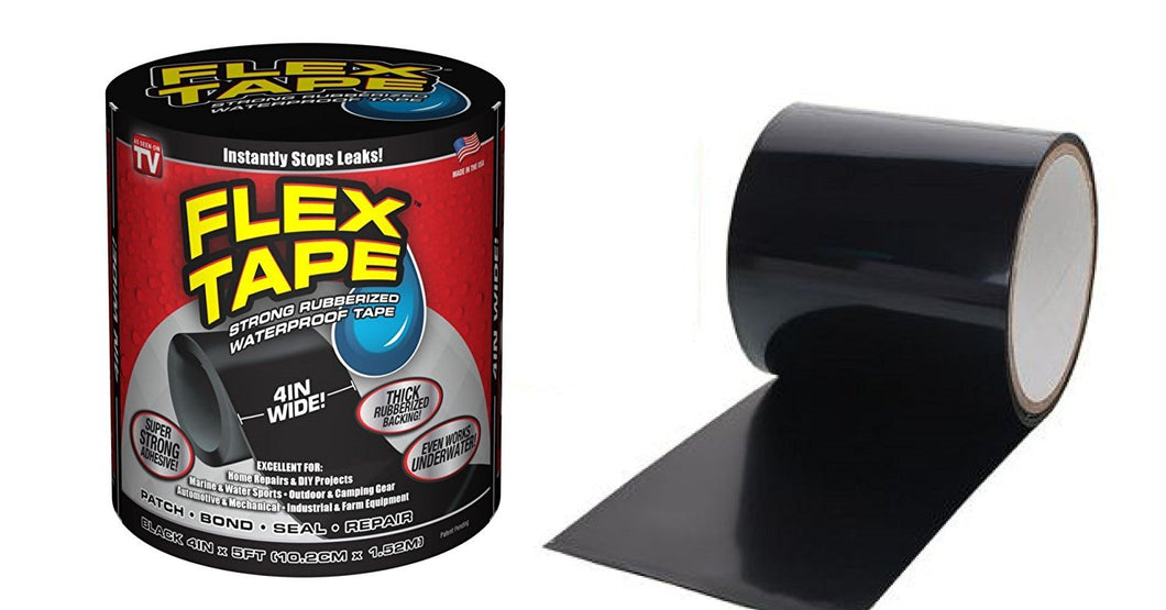 Waterproof Flex Instantly Stops Leaks Sealer Tape