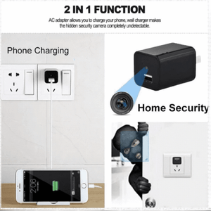 USB Charger Camera