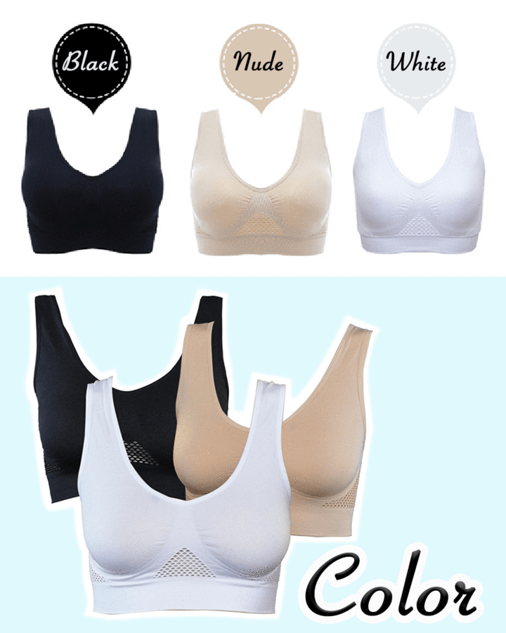 Ultra Comfort Breathable Hi-Bra