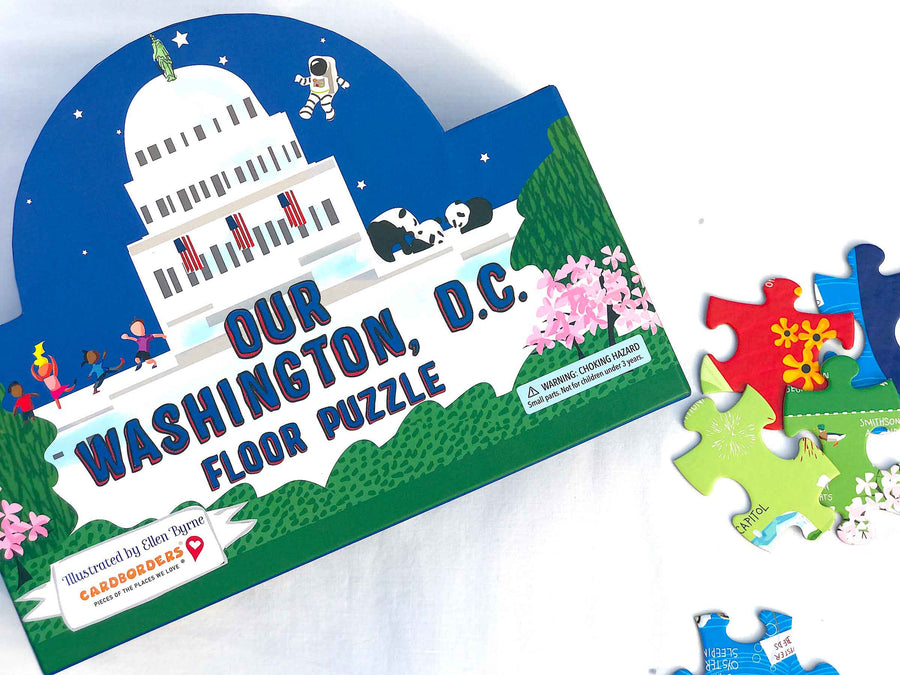 Washington, D.C. Floor Puzzle