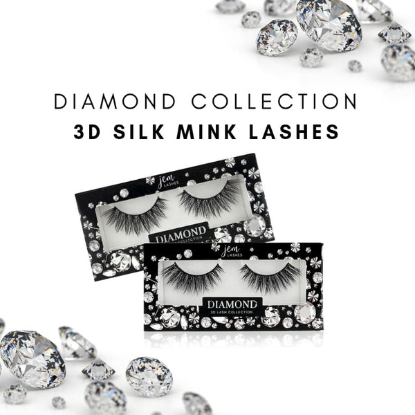 Diamond 3D Silk Mink Lash Collection