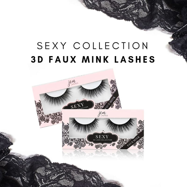 Sexy 3D Faux Mink Lash Collection