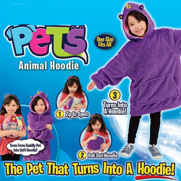 Pets Hoodie(One Size Fits from Short to Tall)