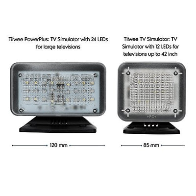 tiiwee Simulatore TV PowerPlus - Falso TV 24 LED