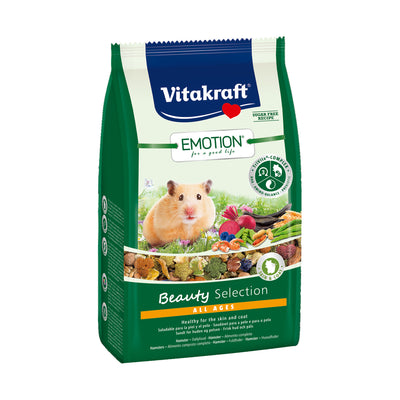 Vitakraft Hamster foder - Emotion Beauty 600 g