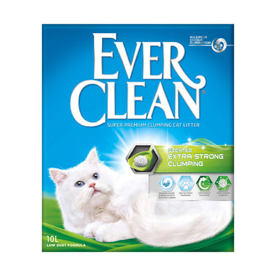 EverClean Kattegrus - Extra strenght scented - 10 Ltr