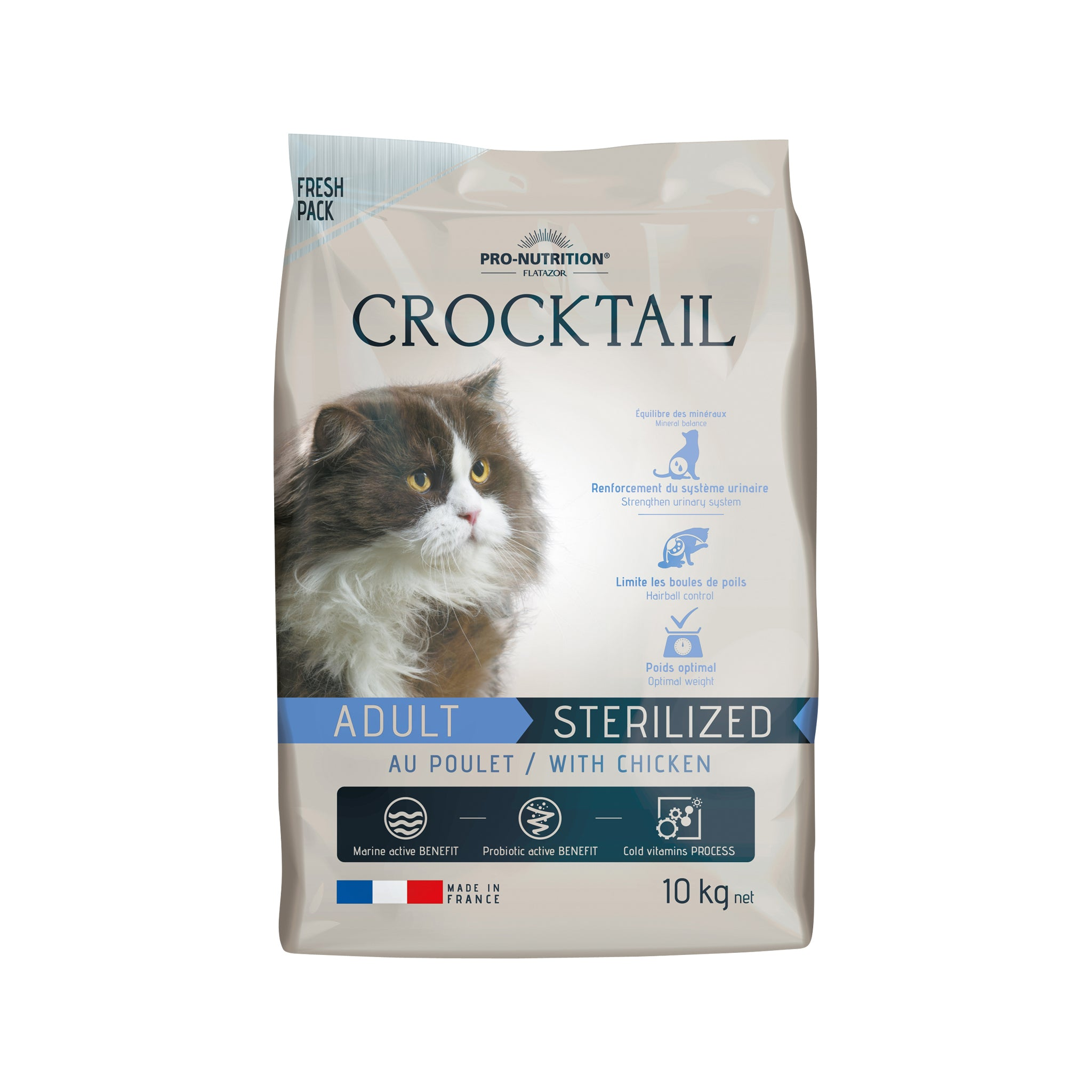 Crocktail Adult Sterilized Chicken 10kg