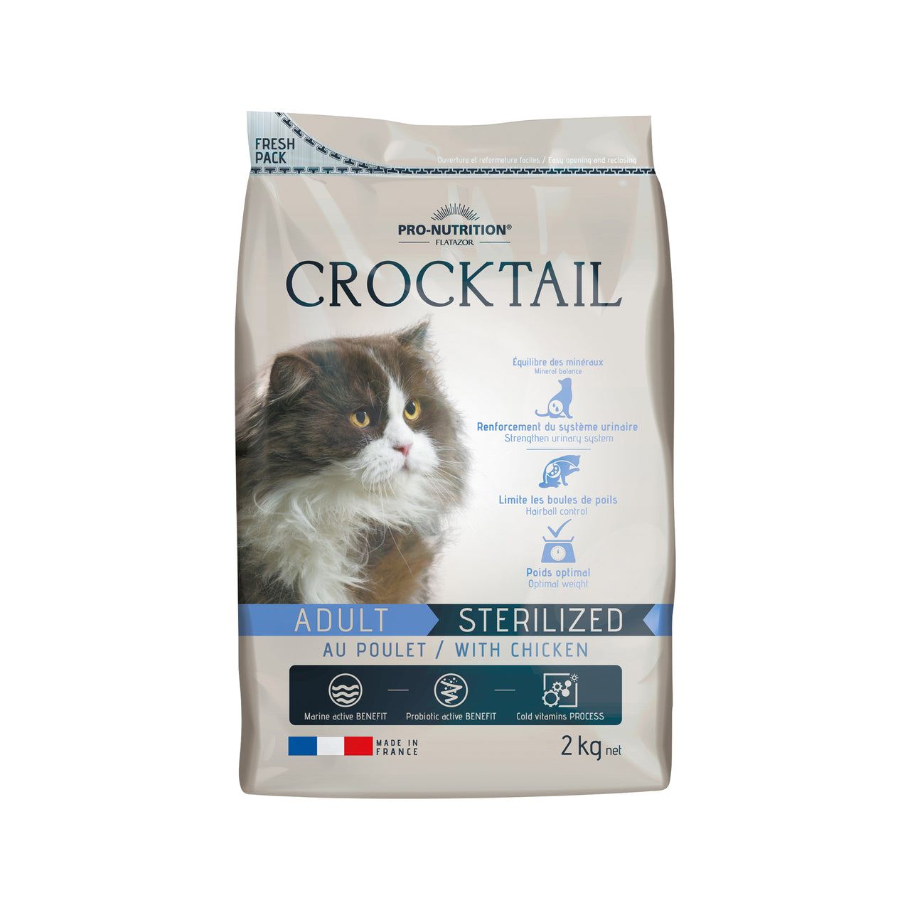 Crocktail Adult Sterilized Chicken 2kg