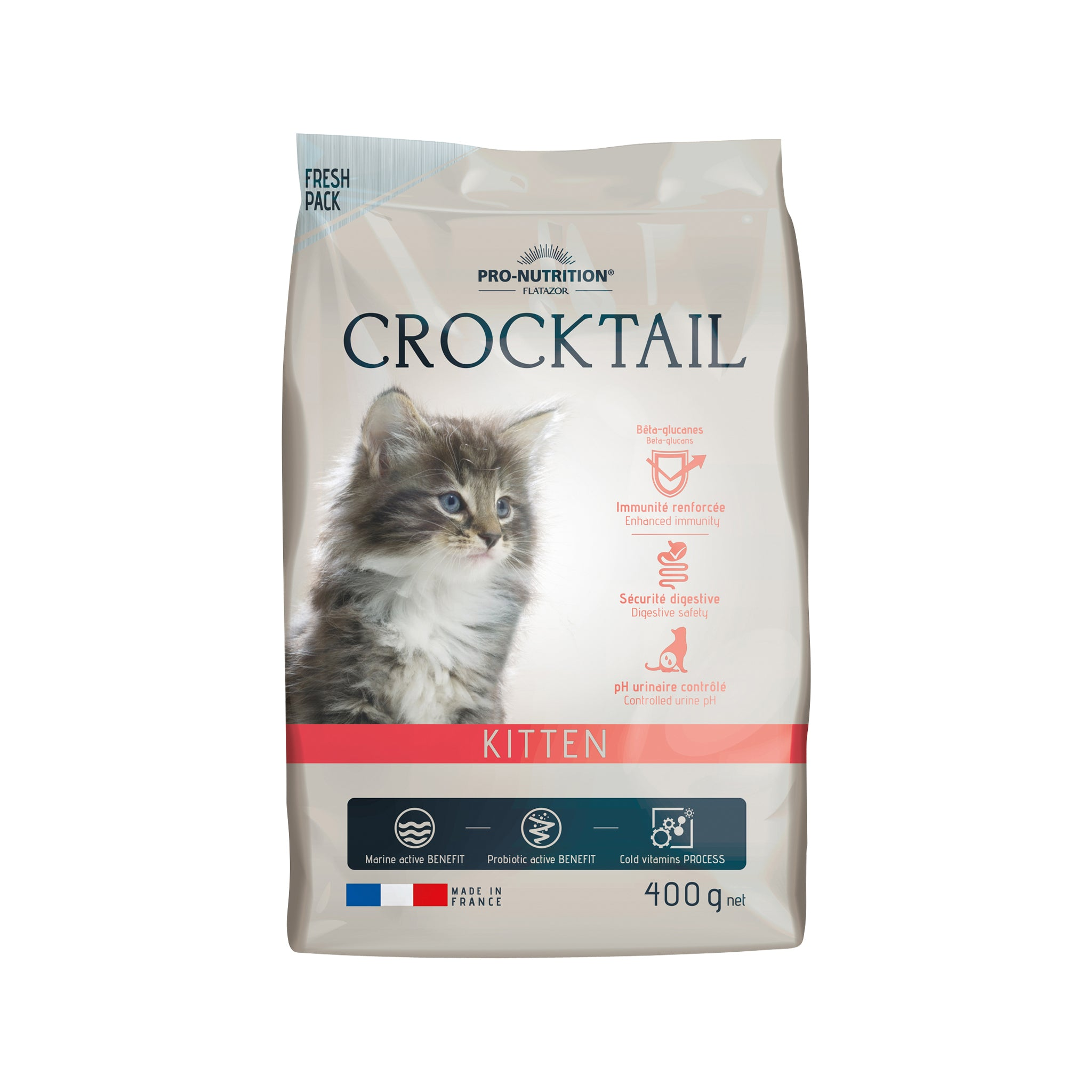 Crocktail Kitten 400g.