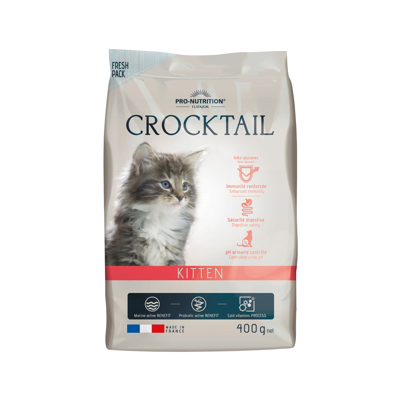 Crocktail Kitten 400 gram