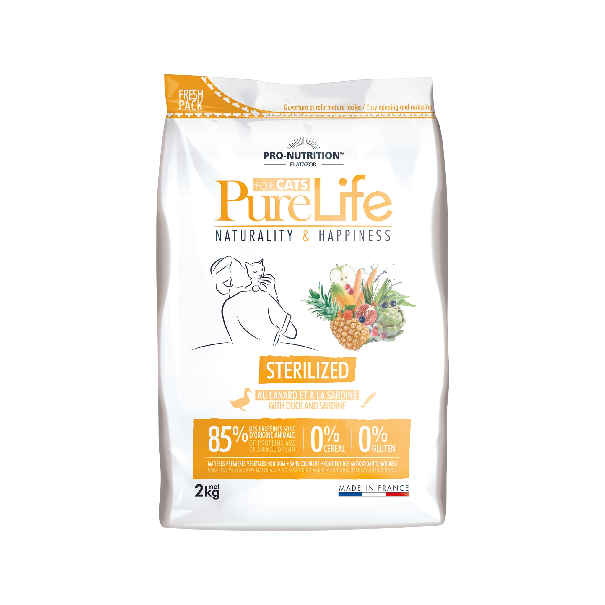 Purelife Cat Sterilized 2 kg