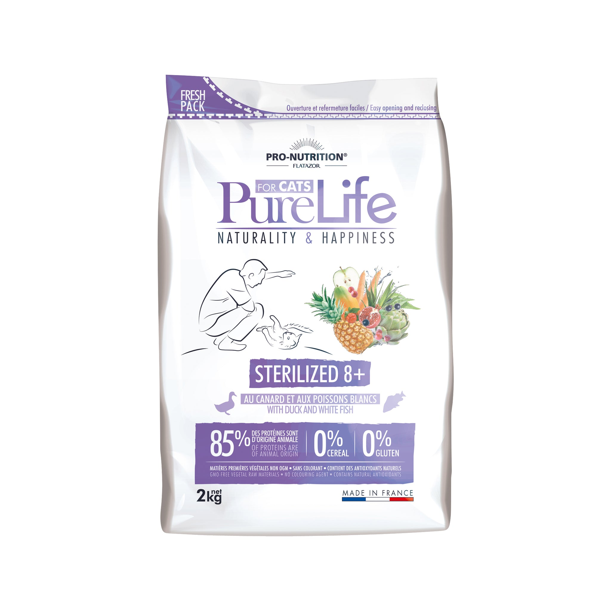 Purelife Cat Sterilized 8+ 2kg