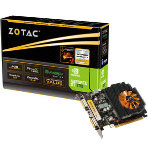 Zotac GeForce GT 730 4 GB DDR3 Graphics Card