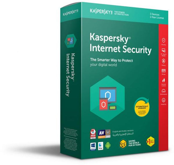 Kaspersky Internet Security 2018 1+1 user