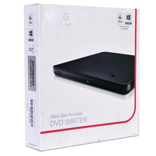 LG Portable Slim DVD Writer - GP65NB60