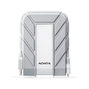 ADATA 1TB Shockproof Waterproof Hard Disk - White