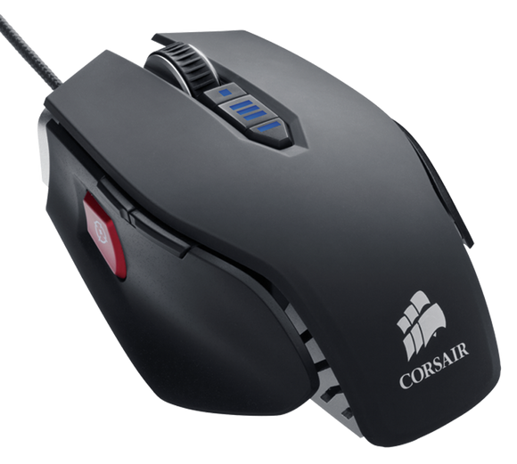 Corsair Gaming M65 FPS Gunmetal Black Laser Gaming Mouse