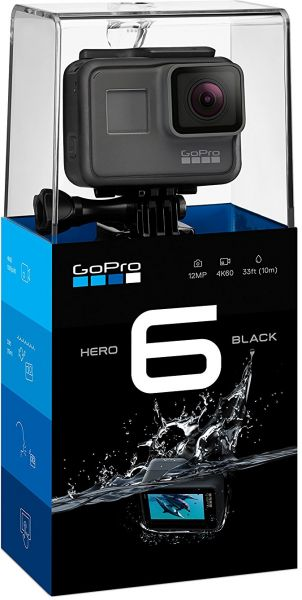 GoPro Hero6 Black - 12 MP, 4K Ultra HD Action Camera
