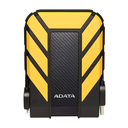 ADATA 4TB Antishok Waterproof Hard Disk - Yellow