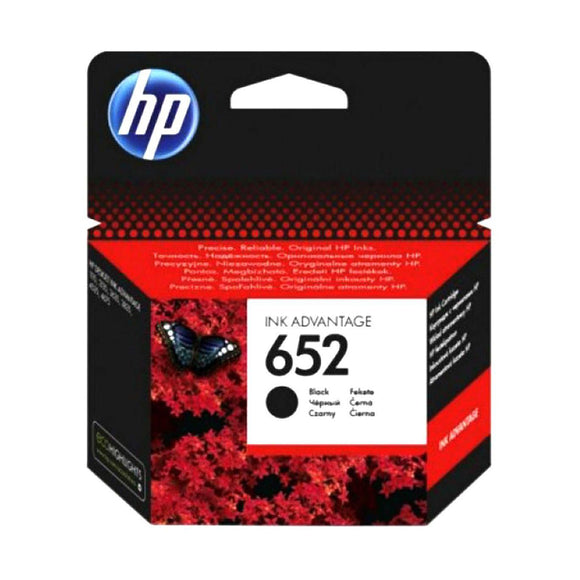 HP 652 Black Original Ink Advantage Cartridge