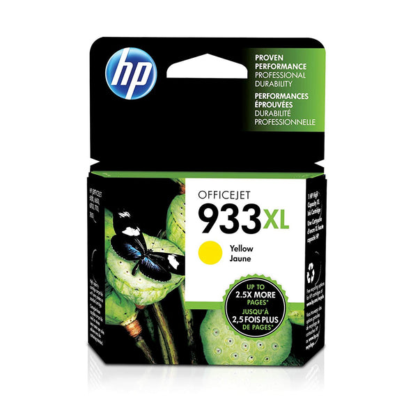 HP 933XL High Yield Yellow Original Ink Cartridge